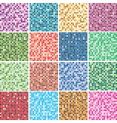 colorful tile backgrounds vector image