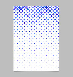 geometrical diagonal square pattern background vector image