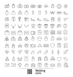 Outline web icon set outline web icon set vector