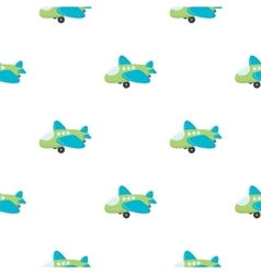 Plane toy cartoon icon for web and vector