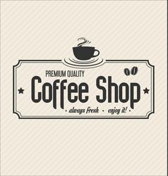 Retro vintage coffee design background 0007 vector