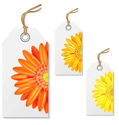 Sale Tags With Gerbers vector