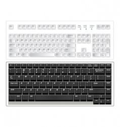keyboards vector image vector image