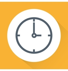time icon design vector image