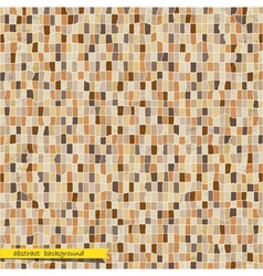 Retro abstract mosaic background vector image vector image