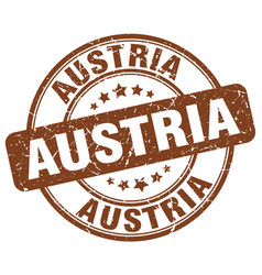 Austria stamp vector