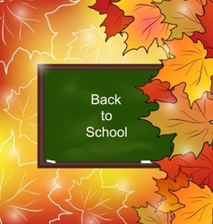 Autumn Bright Background vector