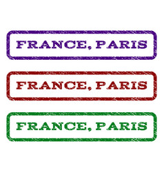 France paris watermark stamp vector