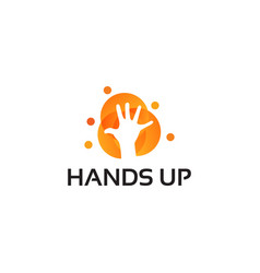 People charity logo helping care healthcare logo vector