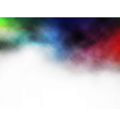 Colorful smoke background vector image
