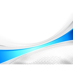 Blue business layout folder speed line vector image