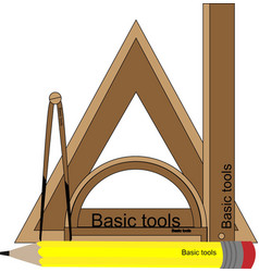 Basic tools vector