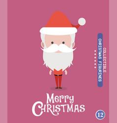 christmas characteravatar 12 vector image