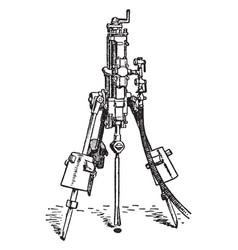 Darlington drill vintage vector