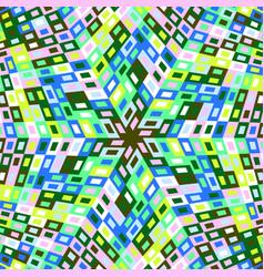 Dynamic geometrical round tile pattern mosaic vector