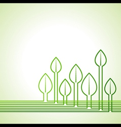 Ecology concept - Leaf background vector