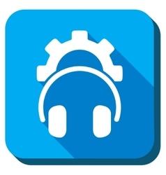 Headphones Tools Icon vector image