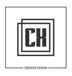initial letter cx logo template design vector image
