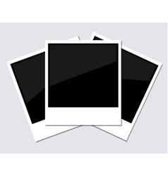 Instant Photographs vector image