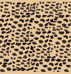 Seamless pattern cougar puma panther skin vector