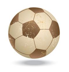Soccer-vintage vector
