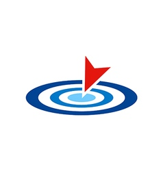 Target point logo vector