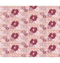 Roses vintage seamless pattern vector