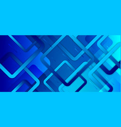 abstract blue gradient background with geometric vector image