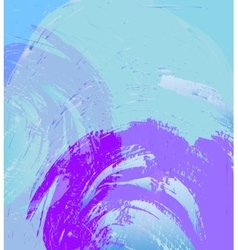 Abstract blue purple background vector image