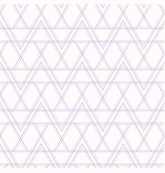 abstract geometric seamless pattern with lines vector image