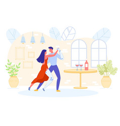disabled romantic couple with prostheses dancing vector image