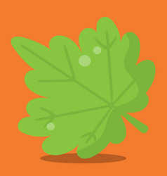 Gobble give thanks leaf 09 vector