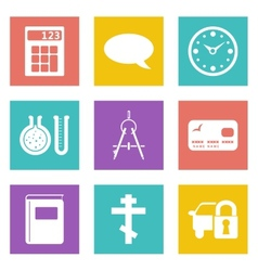 Icons for Web Design set 15 vector image