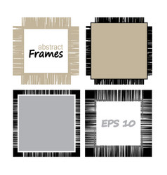 set of geometric frameworks from lines vector image