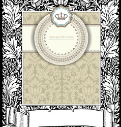 old card vector image vector image