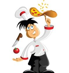 Pizza Chef vector image