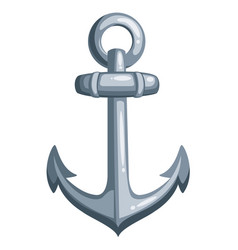 cartoon ship anchor vector image