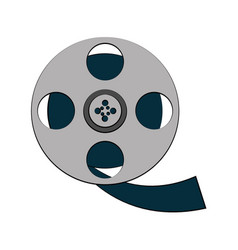 tape reel icon image vector image
