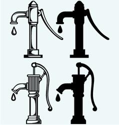 Water pump vector image