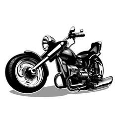 Cartoon Motorbike vector image vector image
