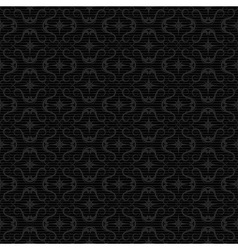 ornaments background black vector image vector image