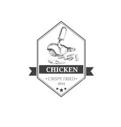 fast food badges vector image