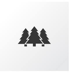 forest icon symbol premium quality isolated tree vector image