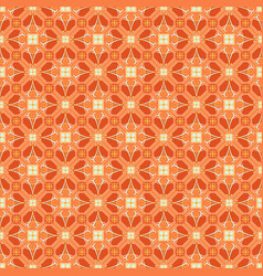 geometric arabesque oriental seamless pattern vector image