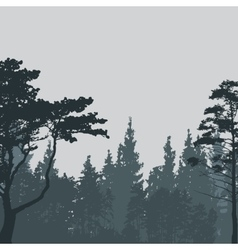Image of Nature Tree Silhouette vector
