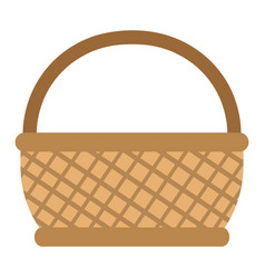 Isolated picnic basket design vector