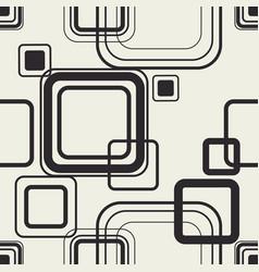 minimal squares contour design vector image