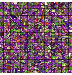 Multicolor mosaic background vector