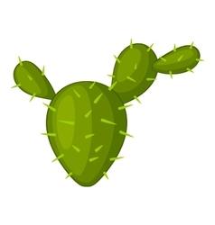Prickly pear icon cartoon style vector
