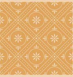 Vintage background seamless pattern vector